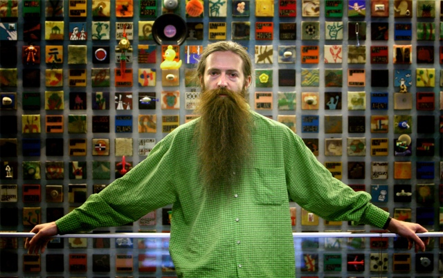 Aubrey de Gray, author -- Washington Post