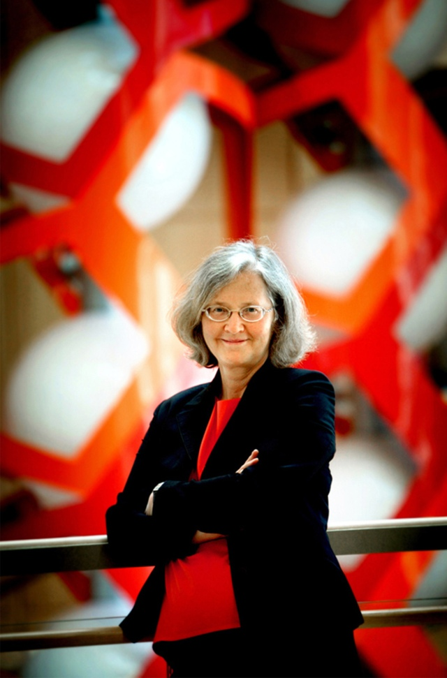 Nobel Laureate, Elizabeth Blackburn, UCSF professor of biochemis