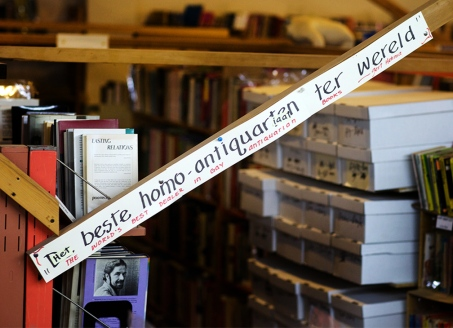 A massive variety of books, pamphlets and other leftist political and gay related items are for sale at the Bolerium bookstore in San Francisco's Mission District, as seen Saturday, November 20, 2010. Thor Swift For The New York Times