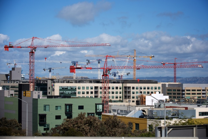 construction, san Francisco, south of market, growth, photography