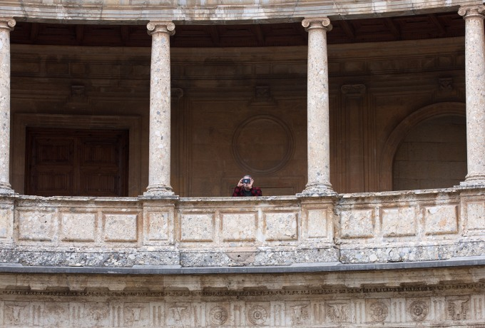 Tourism in the historic Spanish city of Granada