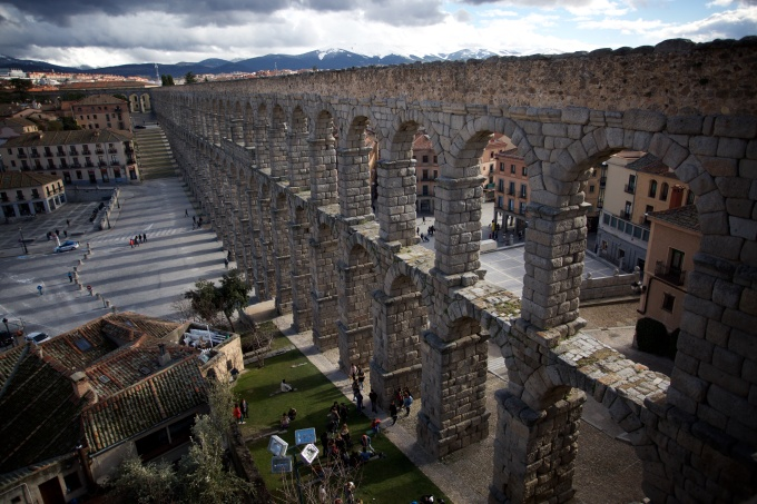 Travel in the historic Spanish city of Segovia